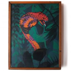 Overlays - Snake Framed